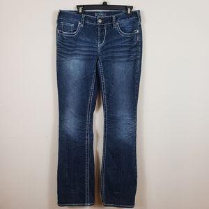 SILVER Aiko Bootcut Jeans 32 W 33 L